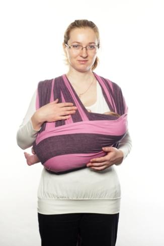 Колыбелька в кресте над карманом - самая удобная колыбелька в шарфе.  Пластичная и фииологичная, она позмоляет малышу занять правильное  положение, ... 5927a7f829b