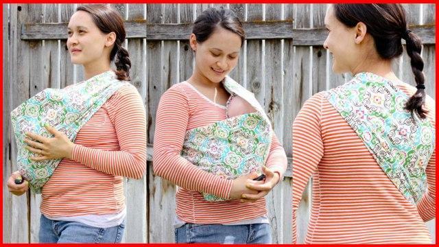 Осторожно! Неправильное горизонтальное положение в слинге-кармане  головка  ребенка загнута к груди! 9cafe911b92