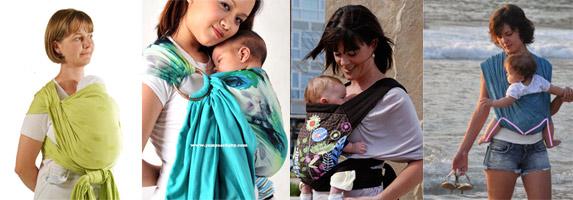 Как выбрать слинг для новорожденного